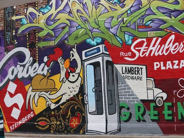 Graffiti Montreal
