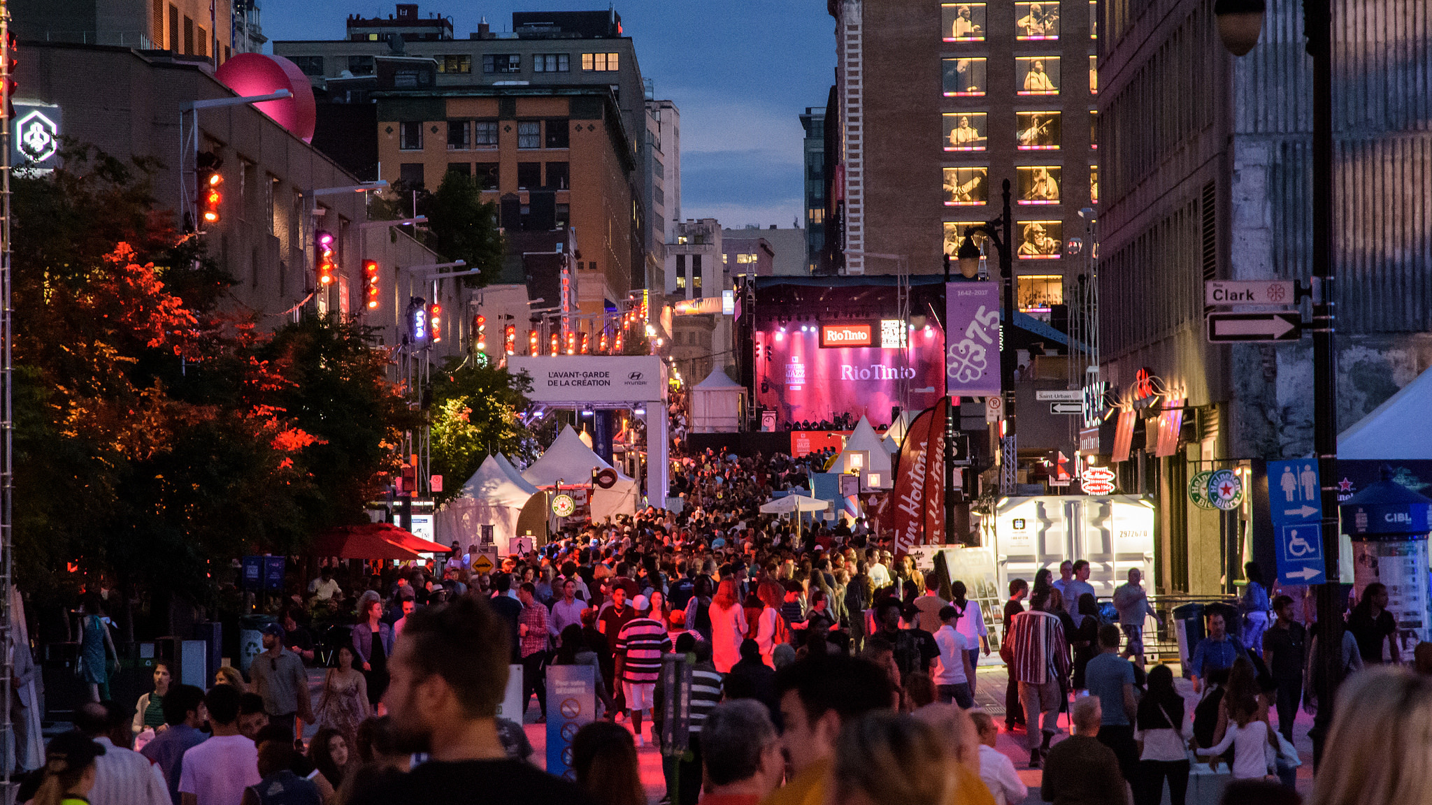Quartier des Spectacles Montreal