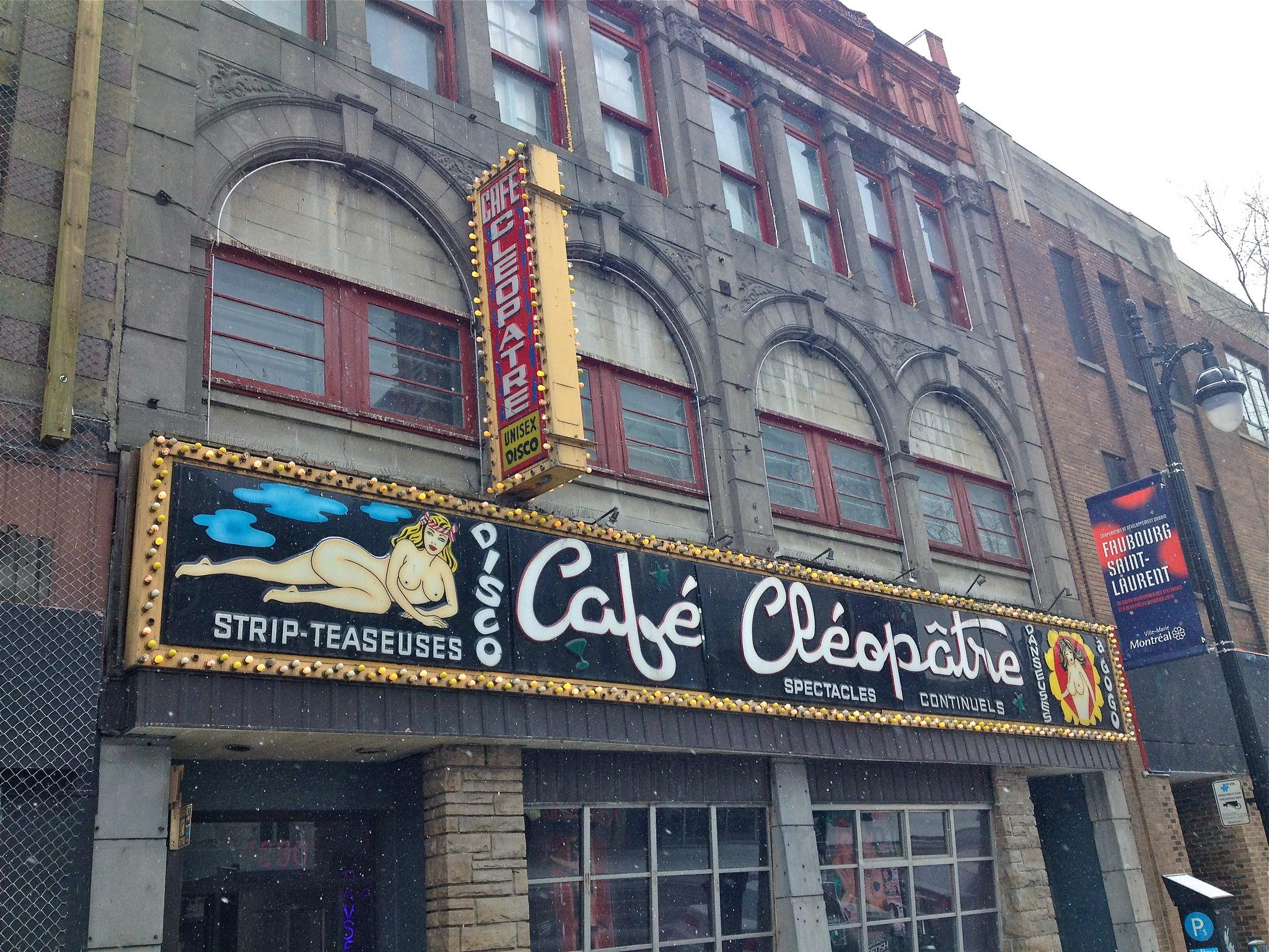 Café Cléopâtre Montreal
