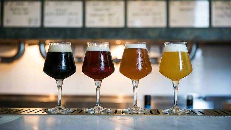 Beers at Odd Culture Taphouse