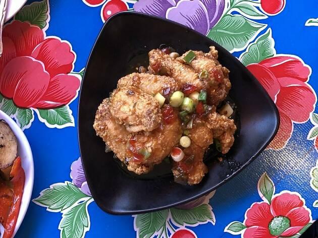 Thai chicken wings at Night Market