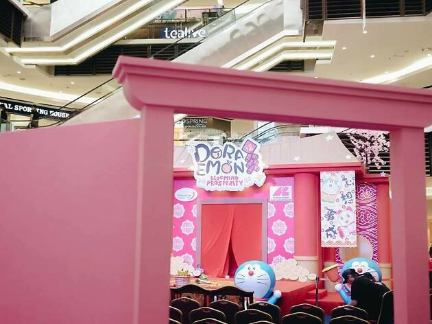Chinese New Year at Paradigm Mall