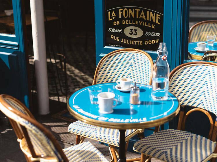 Les plus belles terrasses de Paris