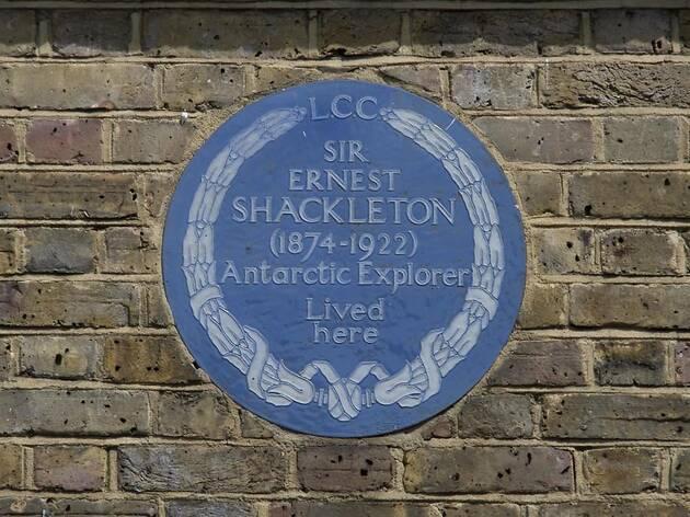 Blue Plaque Ernest Shackleton, press 2019