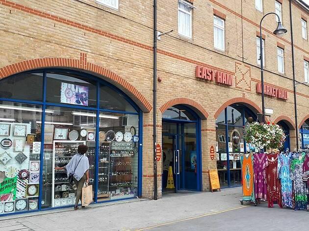 East Ham Market Hall, press 2019