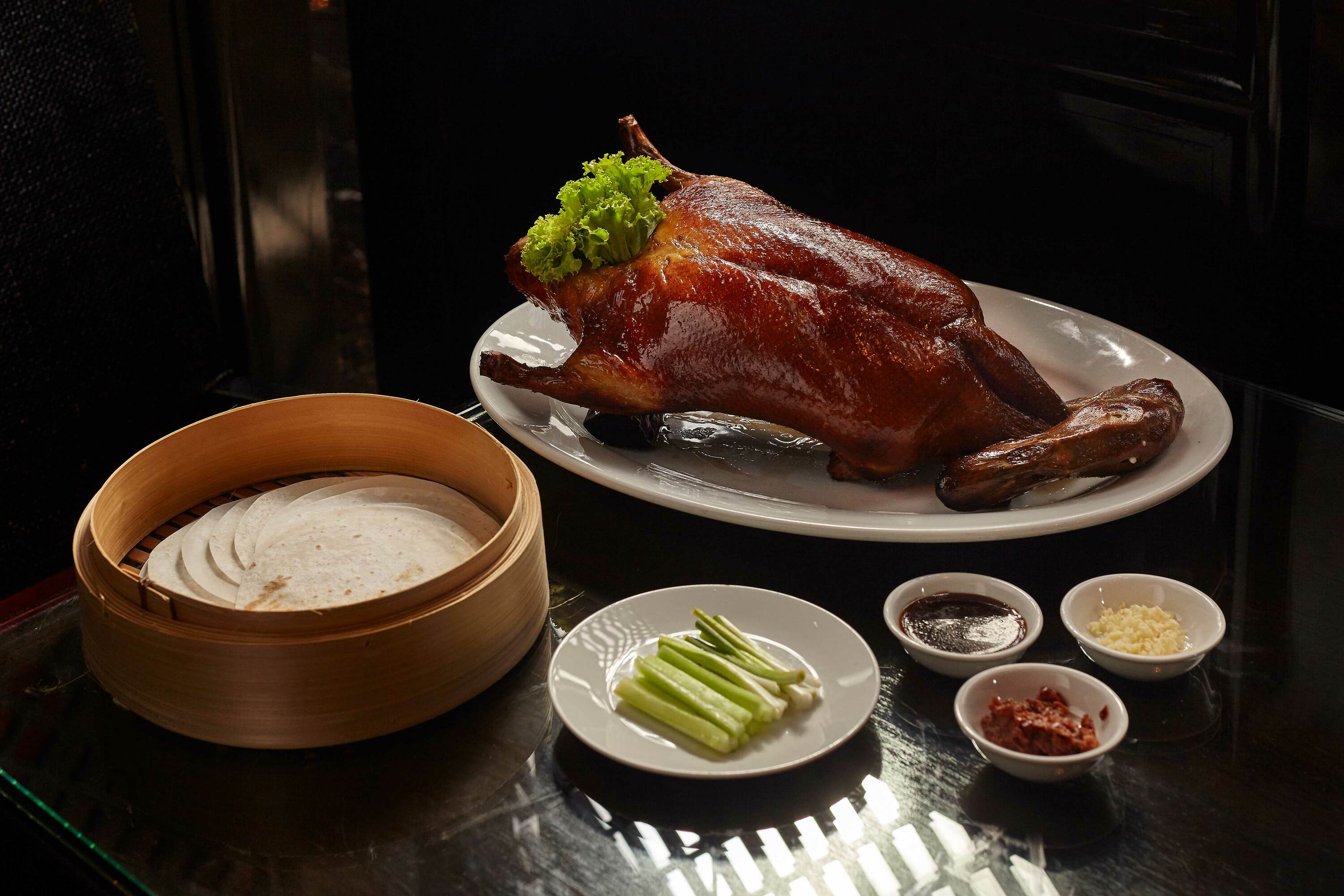 Peking duck at Fei Ya Renaissance