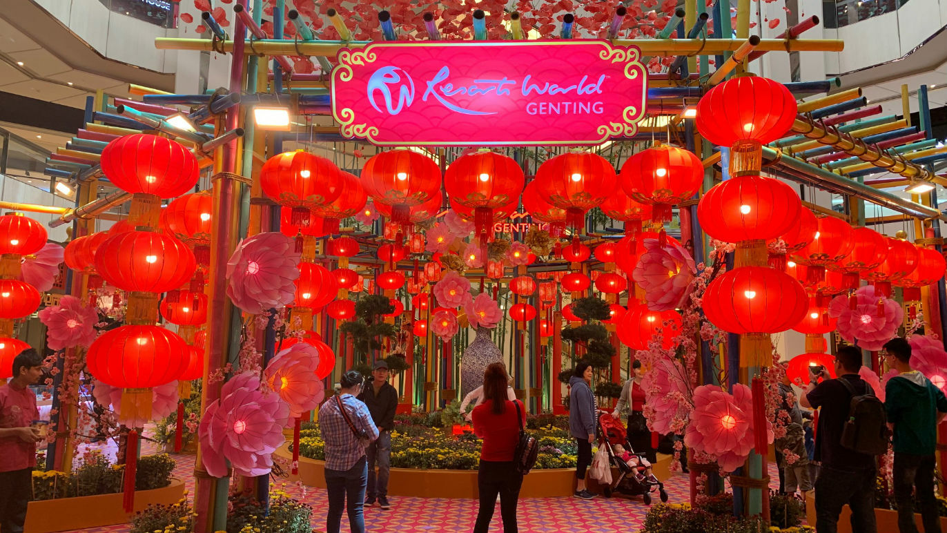 Chinese New Year at Resorts World Genting