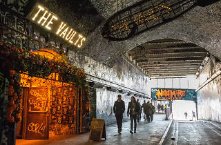 Leake Street and The Vaults