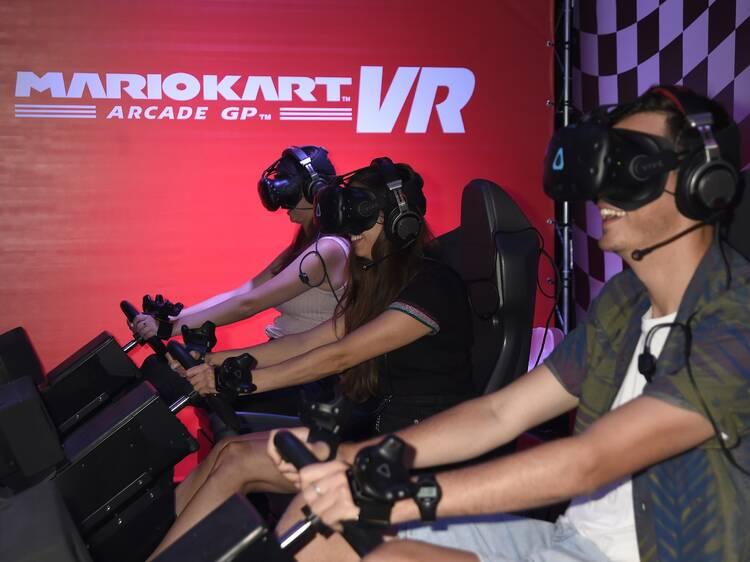 Virtual Reality at Hollywood Bowl
