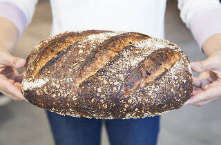 Tartine bread at the Manufactory in Downtown Los Angeles in The ROW
