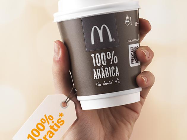McDonald's café gratis