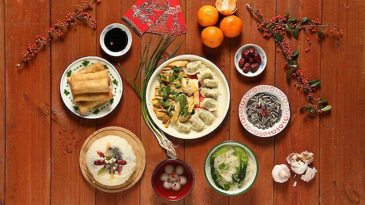 Año Nuevo Chino comida