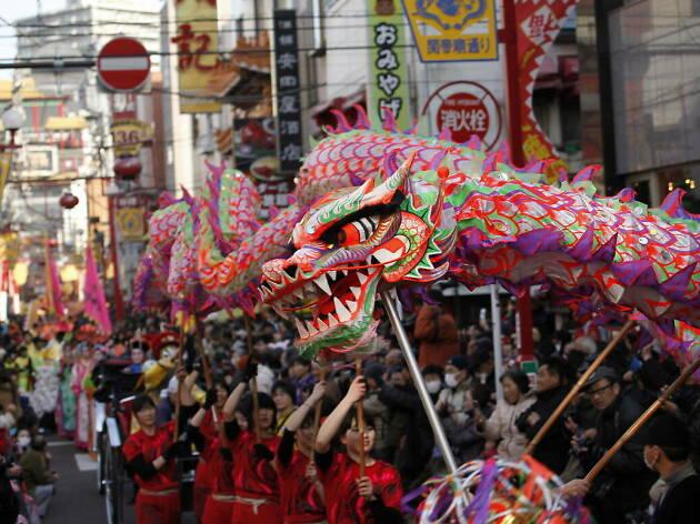 Tokyo Chinese New Year Celebrations