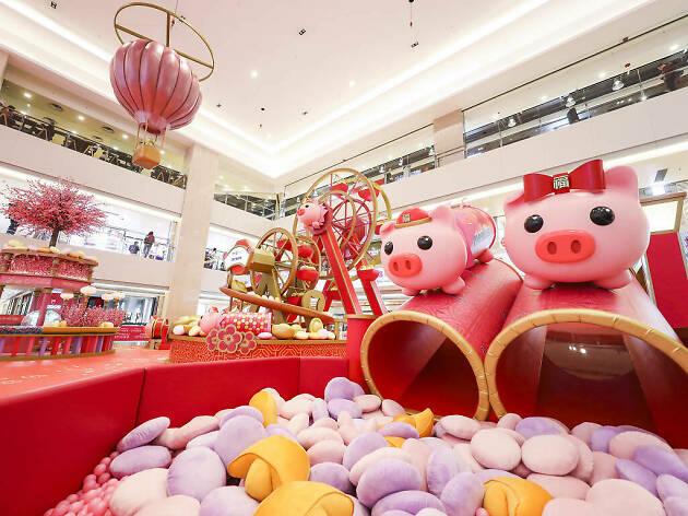 Hong Kong Shopping Mall Installation