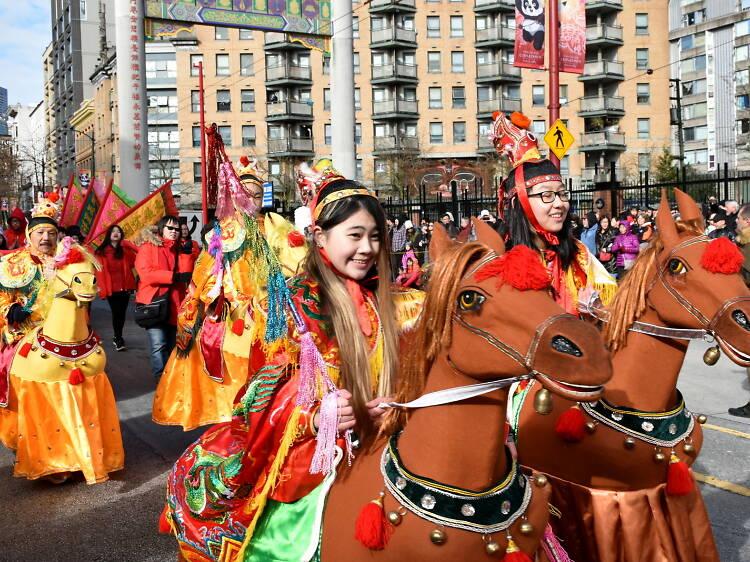 Vancouver's Spring Festival Parade