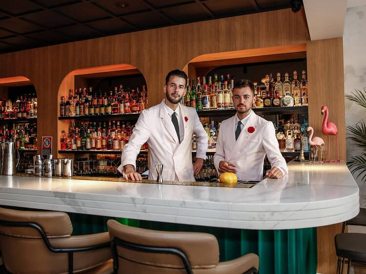 A CBD bar won an award for the world's best hospitality experience
