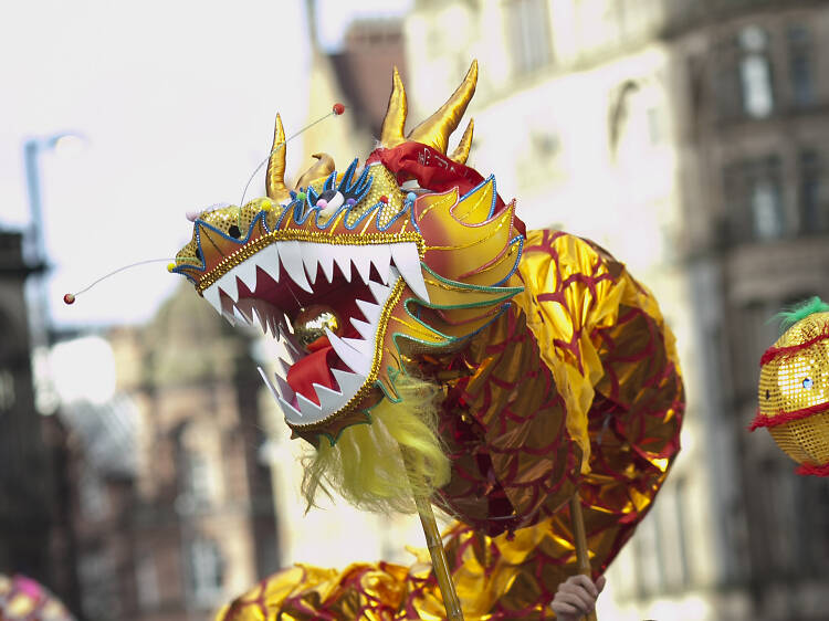 Manchester's Chinese New Year parade