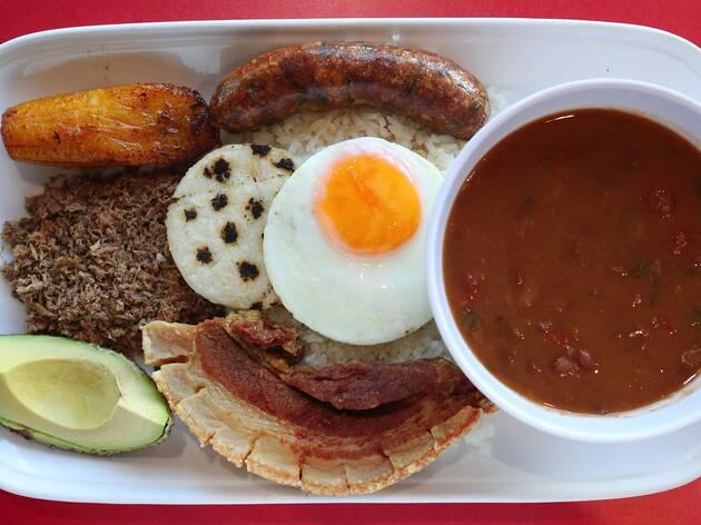 Food at La Tienda