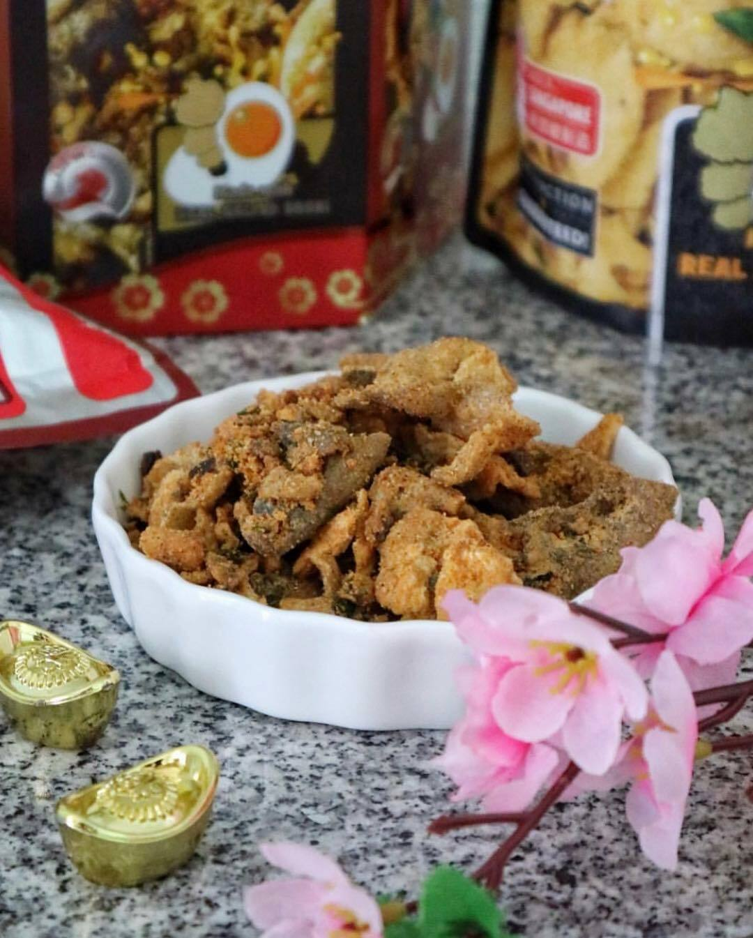 Crusty's Mala Salted Egg Yolk Fish Skin