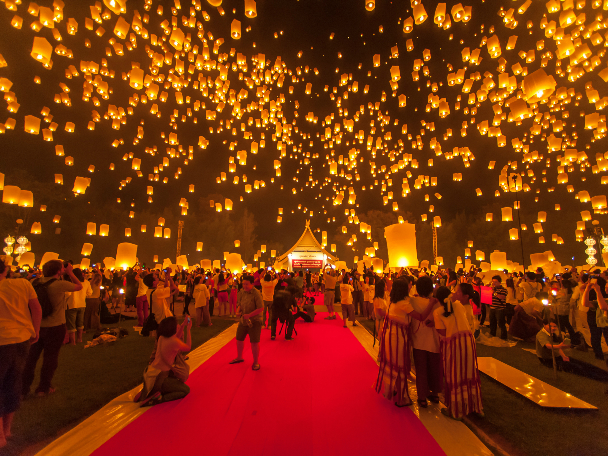 Yi Peng Lantern Festival