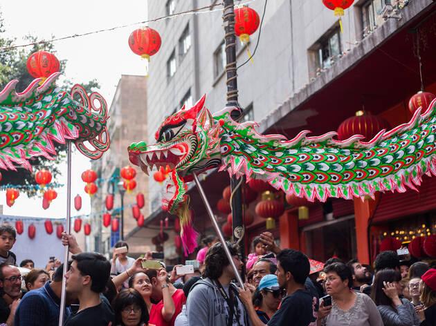 Año Nuevo Chino en la CDMX