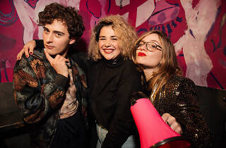 Peter Valenti, Sam Campbell and Simone Leitner