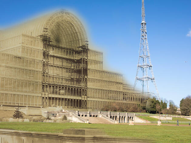 Then & Now: the Crystal Palace