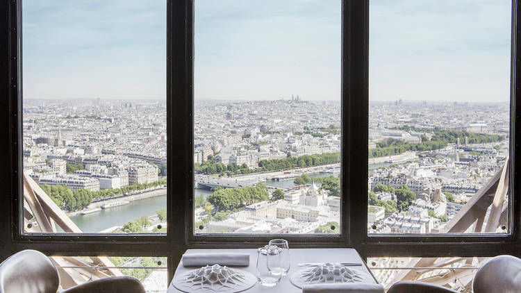 The Eiffel Tower's high-end eatery
