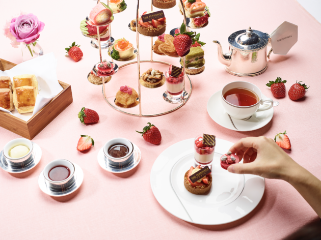 The Peninsula Tokyo Strawberry Afternoon Tea
