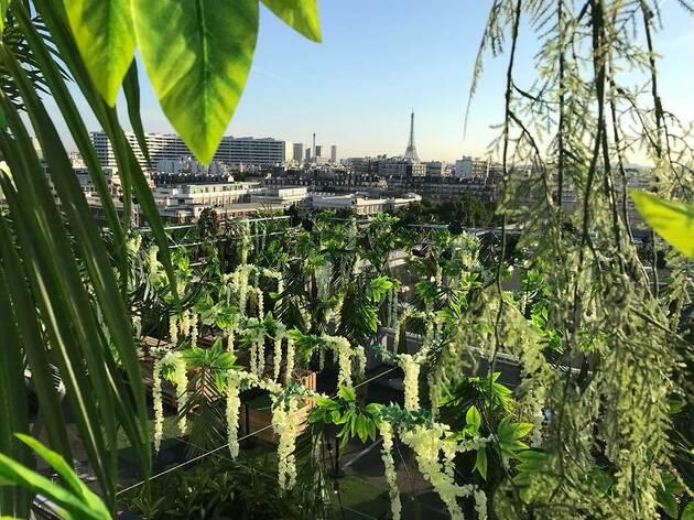 Jardin suspendu : l'énorme rooftop végétal revient pour une 2e saison