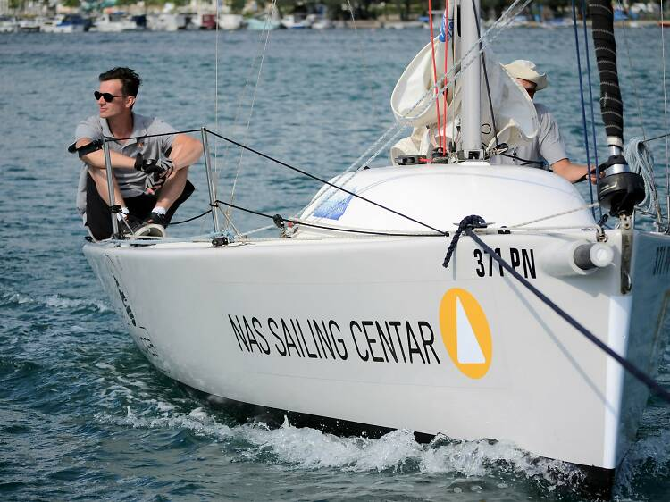 Learn to sail in Punat