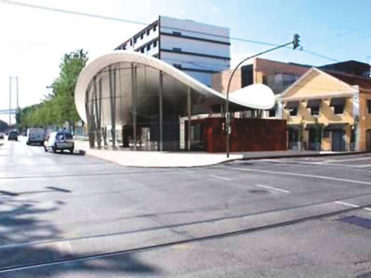 Nova estação ferroviária de Alcântara
