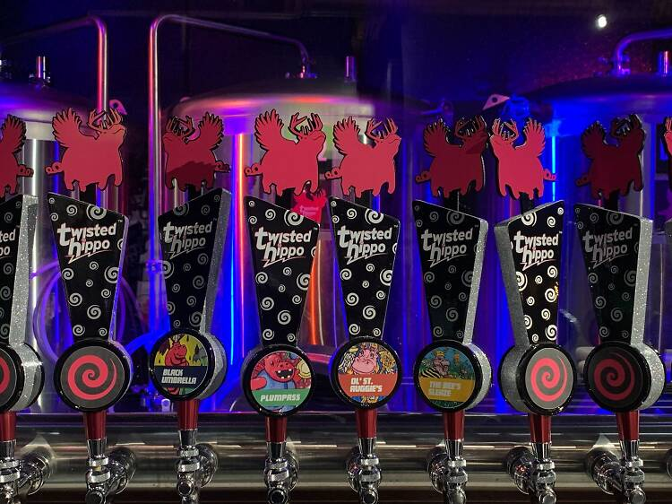 Twisted Hippo Taproom and Eatery