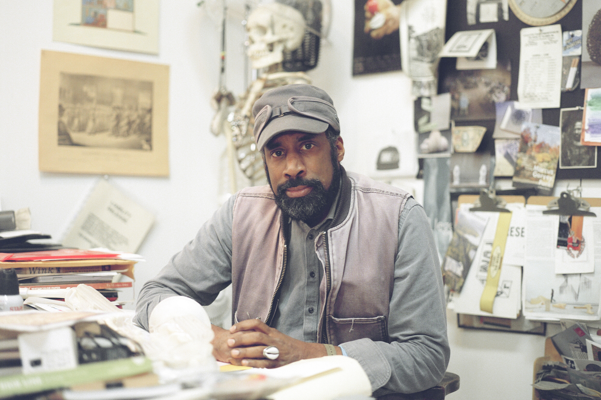 Nari Ward on folk art, found objects and creating havoc with his work