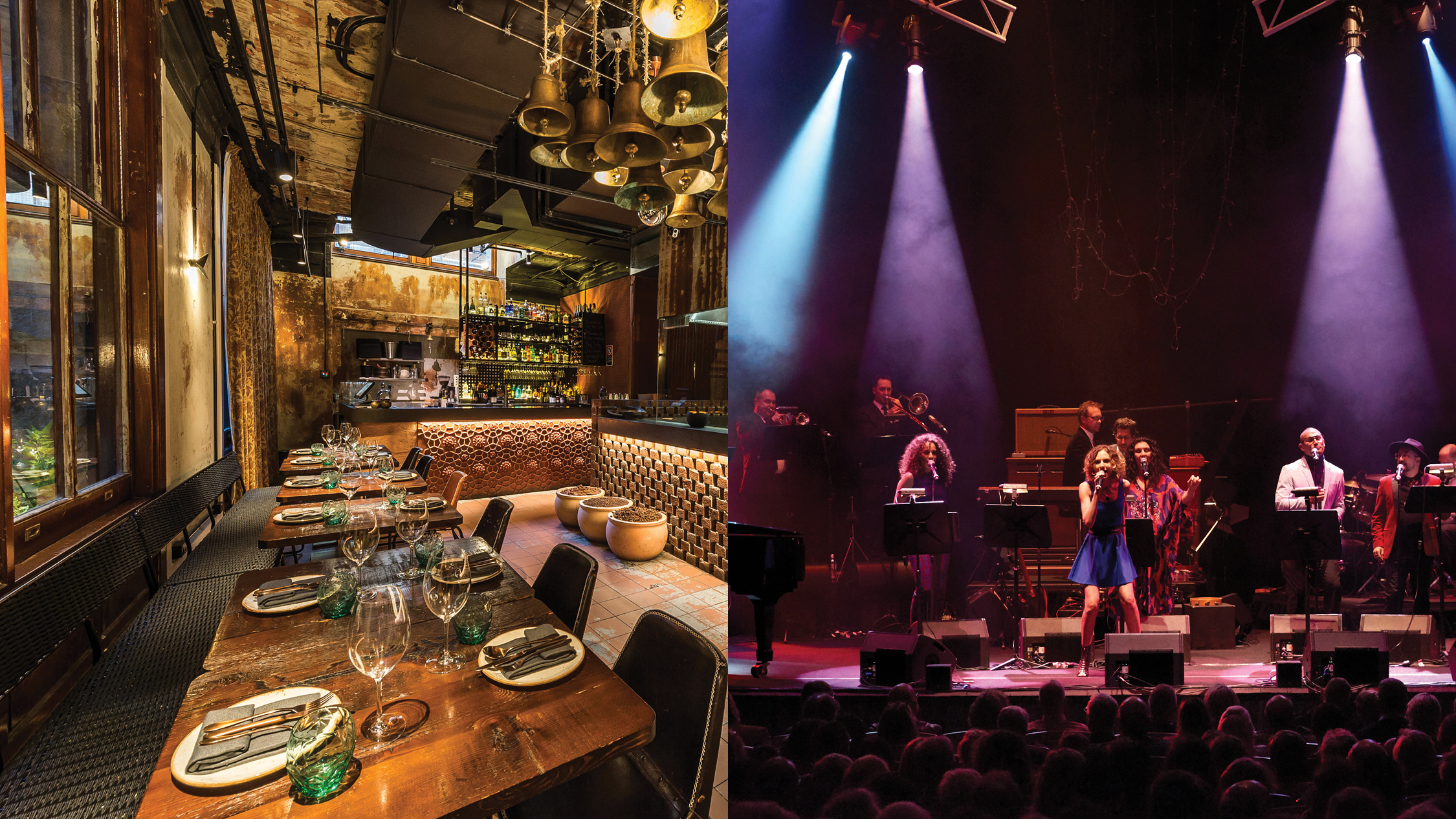 Win a night out at the City Recital Hall plus dinner for two at INDU