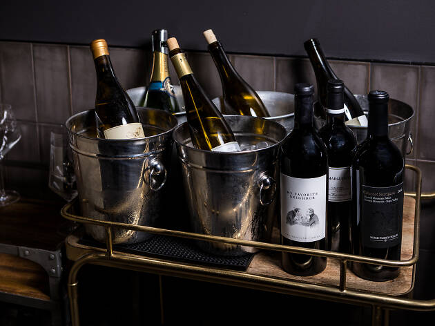 Scratch Bar wine dinner with Saxum Vineyards and Turtle Rock Vineyards