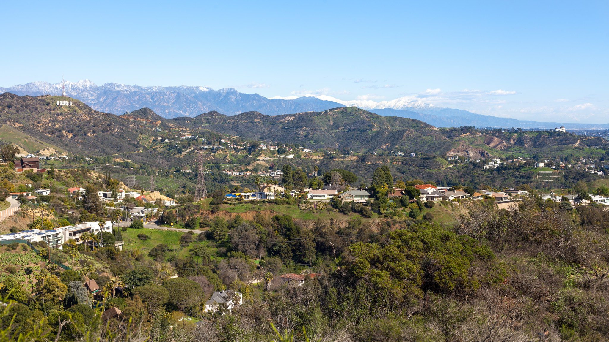 Los Angeles is a snowy, green paradise right now