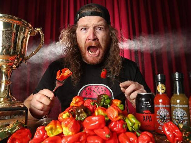 Melbourne Chilli Eating Championship