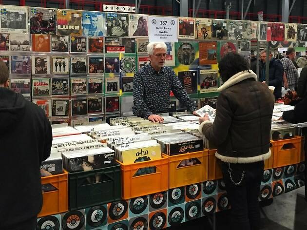 Secondhand Vinyl and Comics Fair