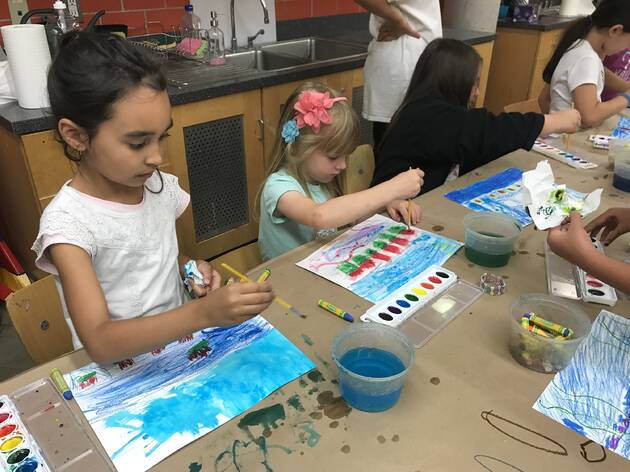 Arty Camp at the Staten Island Children's Museum