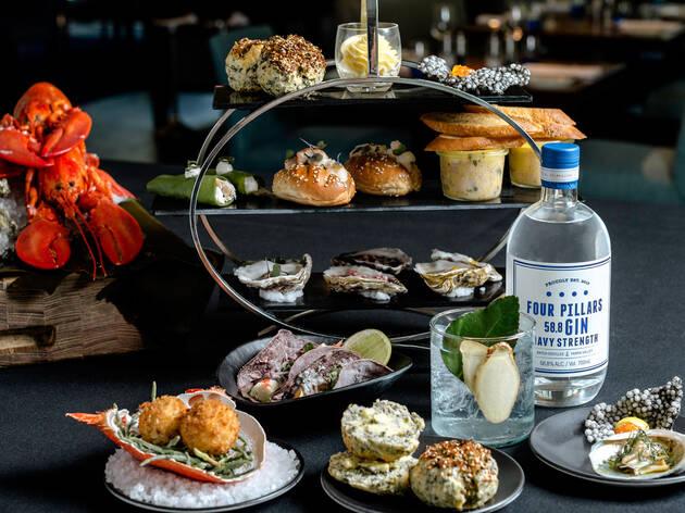 Seafood high tea at High Seas