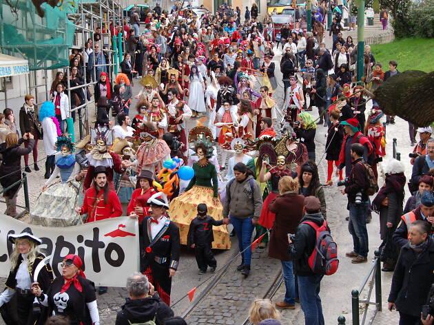 Desfile de Carnaval do Chapitô