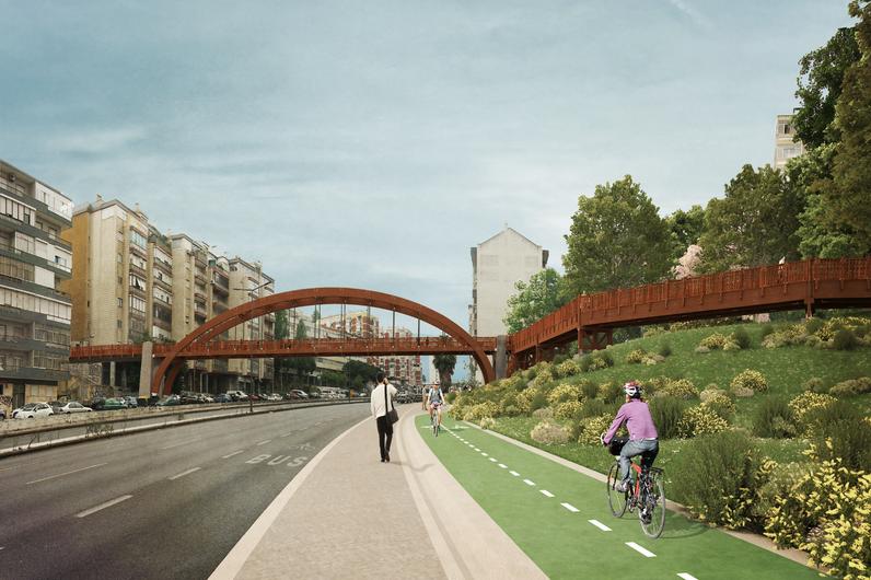 Ponte ciclopedonal da Calçada de Carriche