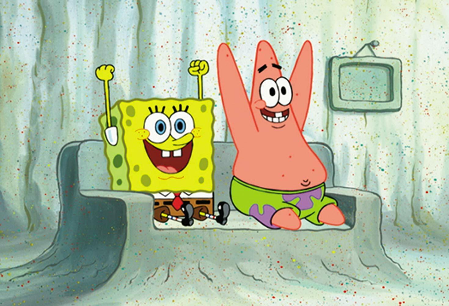 Celebrate with Nickelodeon: Spongebob PartyPants