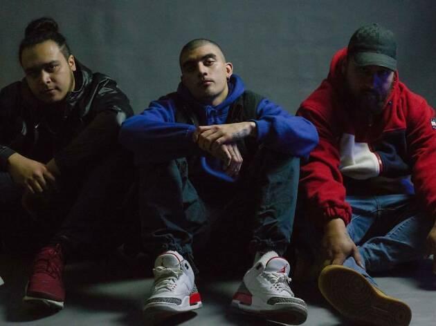 Hip hop artists.