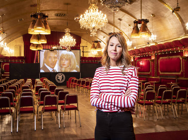 Jayne Williams at the Rivoli Ballroom
