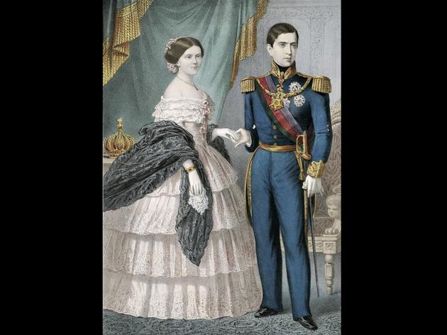 D. Pedro V e Dona Estefânia