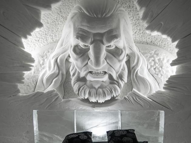 Un hotel de gel dedicat a 'Joc de Trons'