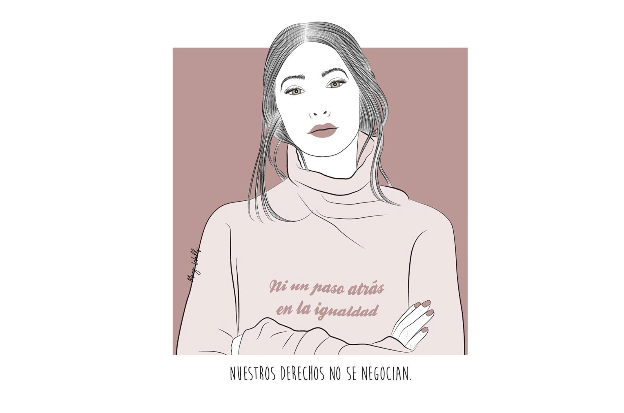 """María Paredes: """"En España no existe la igualdad"""""""