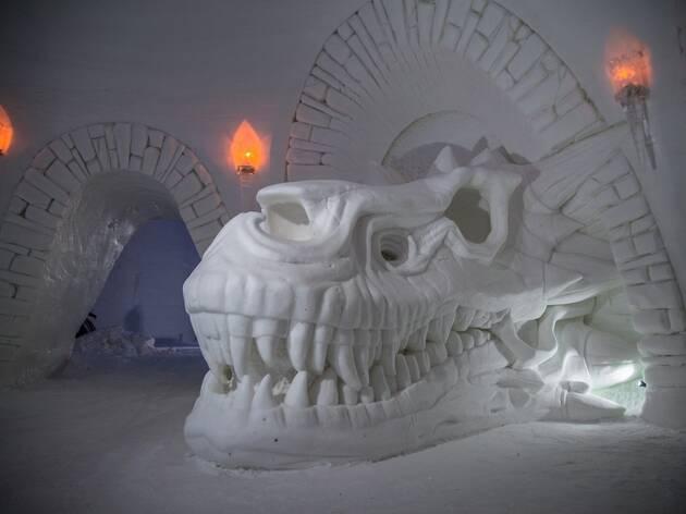 Un hotel de hielo dedicado a Juego de tronos